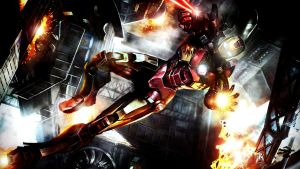 The Avenging Iron Man by ProfessorAdagio