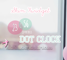 Skin Dot Clock. by Niakiut