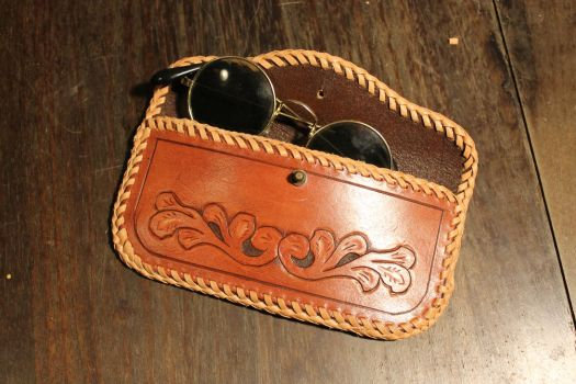 eyeglass case by wulvi
