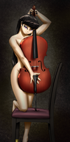 O. Melody's Cello Sweet No.1 in C Major by MykeGreywolf