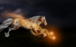 Running at the speed of light by MustangMelodies