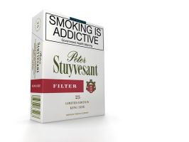 cigarette pack 3D by subaqua
