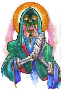 Skull Guadalupe by MadSete
