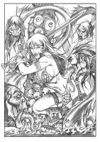Red Sonja issue47 by Adrianohq
