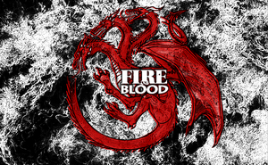 Game of Thrones House Targaryen Wallpaper by nmorris86