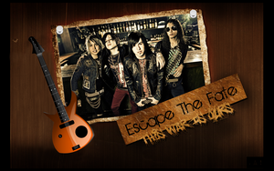 Escape the Fate Wallpaper by 6degrees7sins