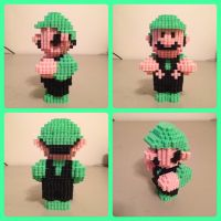 Super Luigi by eightbitbert