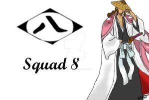 Bleach Squad 8 print by FoxTrotProducts