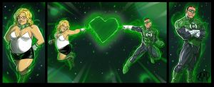 Green Lanterns by Ganassa