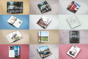 Magazine Mock Up Pack by webdesigngeek