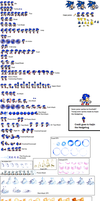 Sonic Junior Sprite Sheet By Deitz94 by tAll3Shyguy