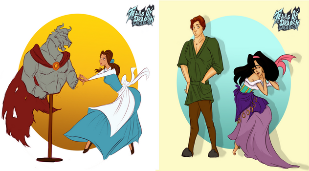What If Fate of Disney's Characters Was Different by TearsofDragon