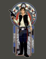 Han Solo Nouveau by DiHA-Artwork