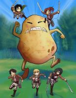 Potato titan by mayshing