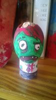 egg head Zombie by tanisexigo