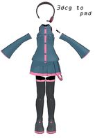 MMD- Teto Set- DL by MMDFakewings18
