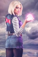 Android 18 Cosplay by elleimarie