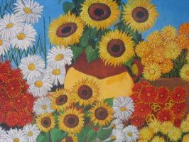 Flowers I by gustavoleal by TraditionalArt