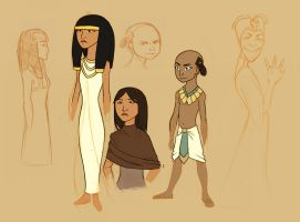 Egyptians001 by Amanecer