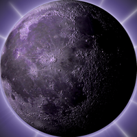 Pruple Moon by Sitana