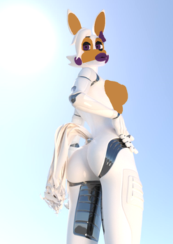 Pose Sexy Of Lolbit By Me And Dis by MikeschmidtMLG
