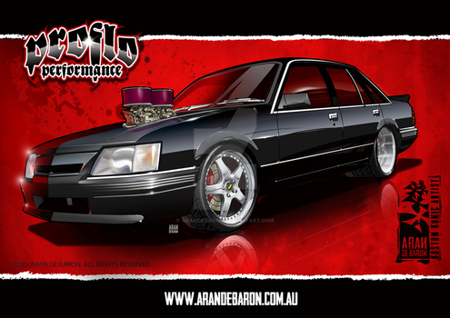 VK Holden Commodore fabrication concept by AranDeBaron
