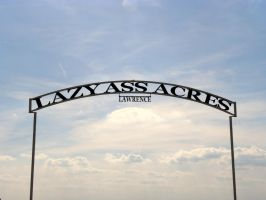 Lazy Ass Acres by SuicideBySafetyPin