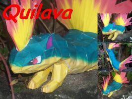 My Quilava Papercraft by laralissia