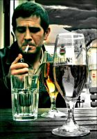 Cigarettes and alcohol by PancolartJorge