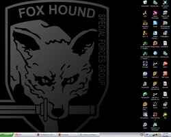 The Foxhound Wallpaper by KOLDleBLUE
