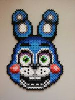 Toy Bonnie Perler by SanJuuRashoumon