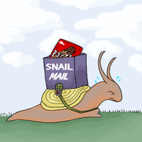 Snail Mail by MintyDreams7