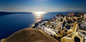 Oia Village by enikOne