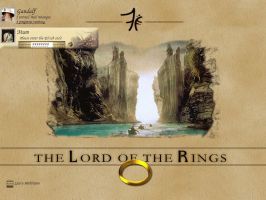 Lord Of The Rings by dazzla