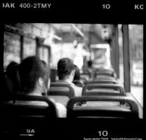 on the bus. by Togusa208