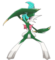 Knight of Feelings - Gallade by kari10001