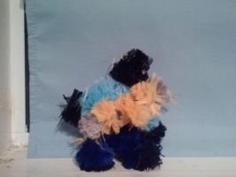 Pipecleaner Blu Pyro by Hannah-Needle