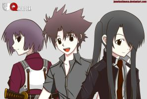 UQ Holder! 4,7, and 11 by junolastimosa