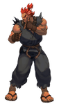 Akuma Third Strike HD by steamboy33