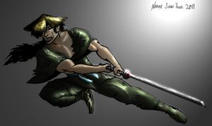 Jubei coloured by Wispymoon by hellbat