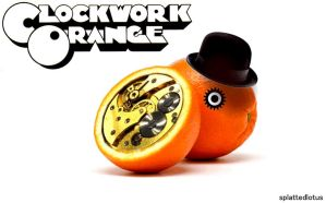 clockwork orange by splattedlotus