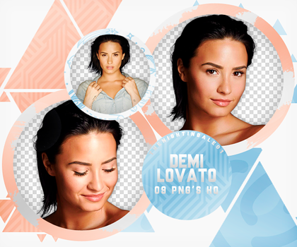 Demi Lovato - Pack Png #1O3 by TheNightingale01
