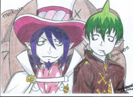 Mephisto and Amaimon by I-Love-Ghost-Writer