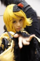 CF 2011 Kagamine Rin Daughter of Evil by xMinas3