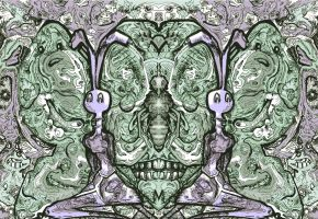 Butterfly Diptych Color by racingspoons