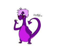 Dragon Mim (my first try) by ILoveCartoons9120