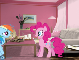 rainbow is jouous of pinkie pies new room by webkinzfun8