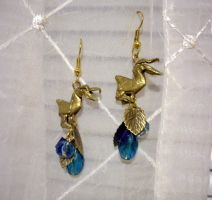 Gold Pelicans for Aunt Missy by squeejie