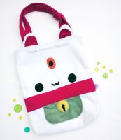 Maneki Neko Tote Bag by CosmiCosmos