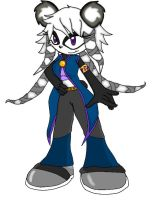 Sonic Oc- Anessa the Panda by Ninja-FoxDemon-Angel